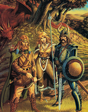 Dragonlance Chronicles - A Fantasy Feast