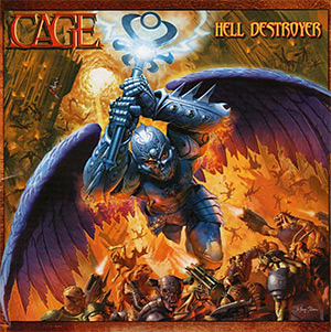 Cage Hell Destroyer - Artwork - Album Review