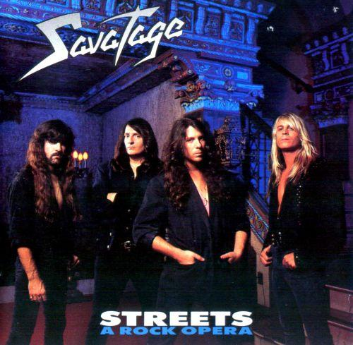 Savatage - Streets: A Rock Opera - Artwork