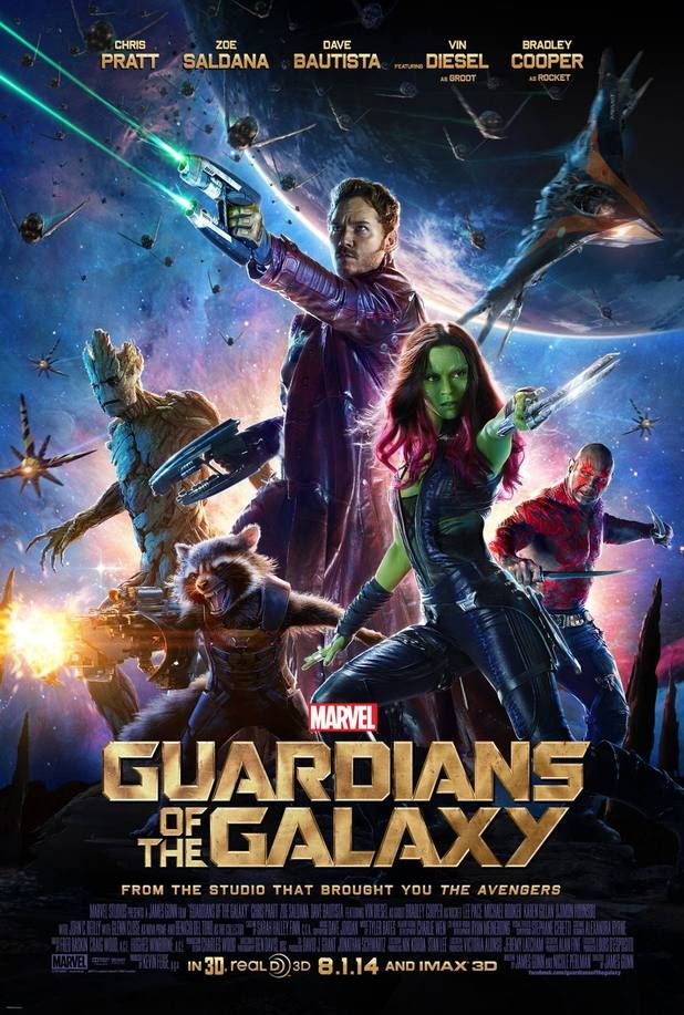 Guardians Of The Galaxy - Balls in Space